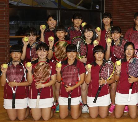 女子硬式テニス部