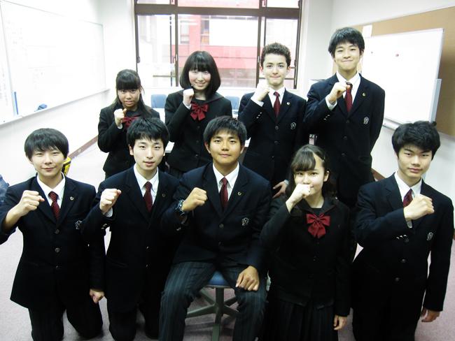 中学生徒会メンバー