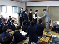 中学 文部科学大臣杯第11回小・中学校将棋団体戦北海道大会中学生の部準優勝