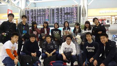 第2回立命館慶祥・ハーバード大学研修プログラム 出発