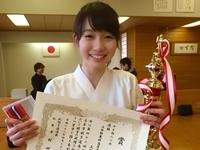 第42回 札幌支部高等学校弓道春季大会 女子の部・個人 優勝,技能優秀賞獲得!