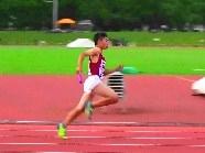 中学陸上競技部 男子4×100mR全道優勝!
