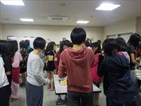 高校 女子寮の新入生歓迎会が行われました