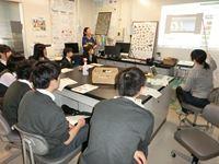 高校2年生が北大の研究室を訪問 Part1
