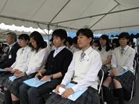 高校弁論研究部 「江別市平和のつどい」に参加してきました