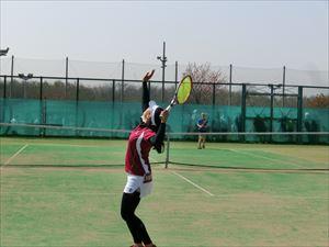 高校女子テニス部 春季テニス大会で団体戦ベスト8!