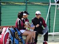 高校女子テニス部 春季テニス大会で団体戦ベスト4!