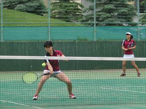高校女子テニス部 高体連全道大会で団体戦3位入賞!