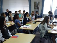KAKEHASHI アメリカ高校生が来校しました