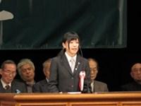 北方領土を考える高校生弁論大会で佐藤花(2年)が最優秀賞受賞!北方領土返還要求国民大会(東京)でも, 青少年代表としてスピーチ!
