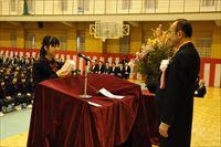 立命館慶祥中学校 第17回入学式