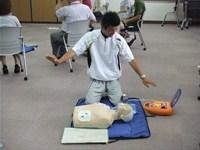 教職員対象「普通救命講習II」が行われました