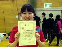 高校女子バドミントン部 春季大会1部昇格!
