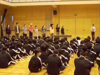 高1(慶祥21期生)対象「演劇ワークショップ」を行いました