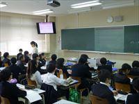 入試 中学入試報告会兼見学会を実施いたしました