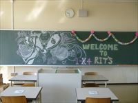 新入生へ~立命館慶祥中学校生徒会伝統の「心のバトン」~