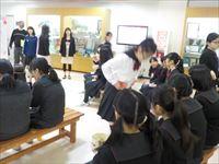 中学 新入生歓迎のクラブ活動