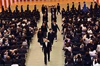 中学 第16回入学式が行われました