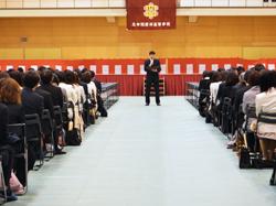 立命館慶祥高等学校第23回入学式