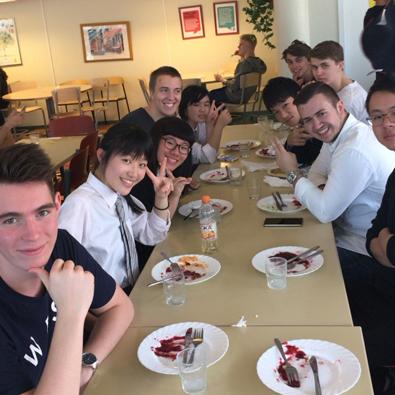 スウェーデン ハガ高校 交換交流プログラム 3日目