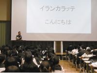中学1年生対象アイヌ文化講演会・中学3年生対象マオリ講演会を開催いたしました