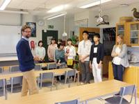 スウェーデン ハガ高校 交換交流プログラム 2日目