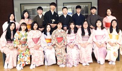 韓国・安養外国語高校の生徒が来校しました | 立命館慶祥中学校・高等学校