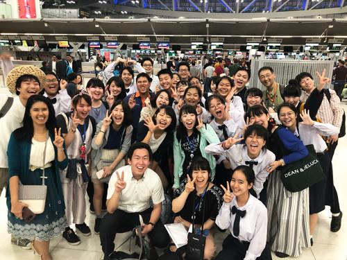 2018年度 重点枠SSH国際共同課題研究 タイ海外研修【7日目】